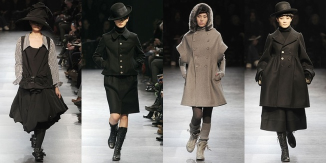 380de796ba2c Photos courtesy of Fashion Directory - Limi Feu Winter 2009. Yamamoto has  ...